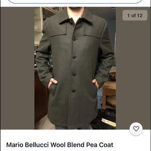 Mario Bellucci Wool Coat from Club Monaco